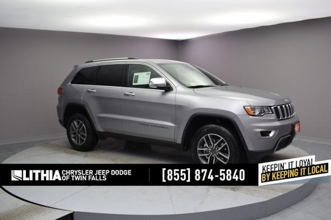 New 2019 Jeep Grand Cherokee LIMITED 4X4 Sport Utility Twin Falls, ID