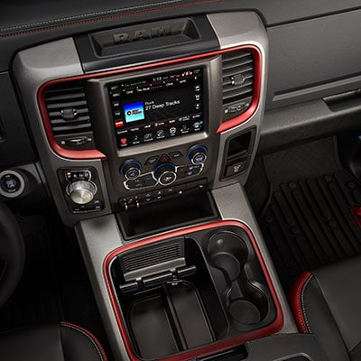 Ram 1500 Interior and Exterior Vehicle Features