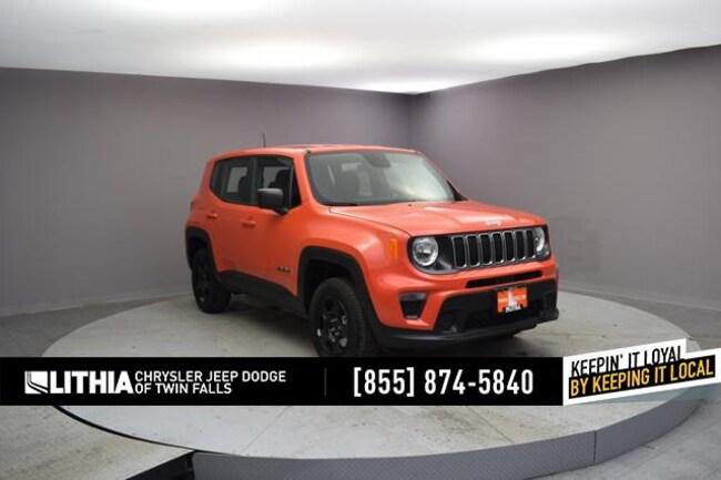 New 2019 Jeep Renegade SPORT 4X4 Sport Utility Twin Falls, ID