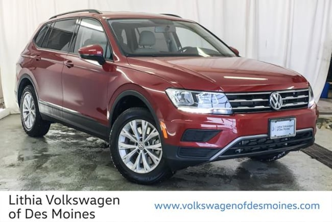 Certified Pre-Owned 2018 Volkswagen Tiguan 2.0T S 4MOTION SUV Johnston, IA