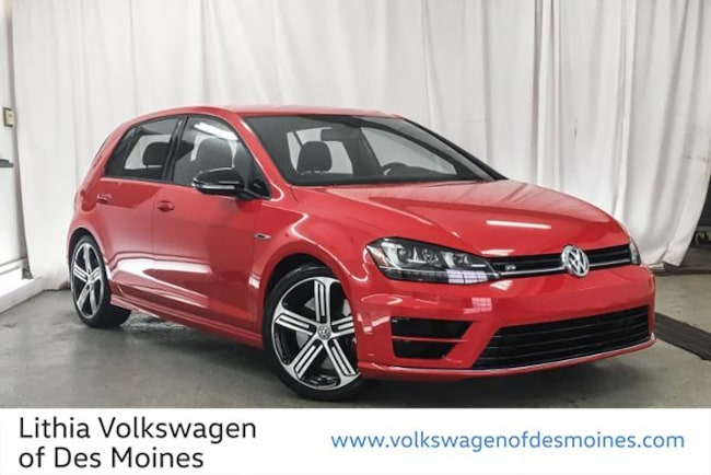 Certified Pre-Owned 2016 Volkswagen Golf R 4-Door Hatchback Johnston, IA