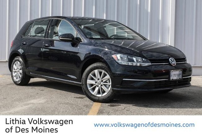 Certified Pre-Owned 2018 Volkswagen Golf TSI S Hatchback Johnston, IA