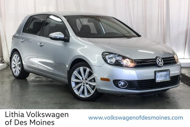 Certified Pre-Owned 2014 Volkswagen Golf 2.0L TDI Hatchback Johnston, IA