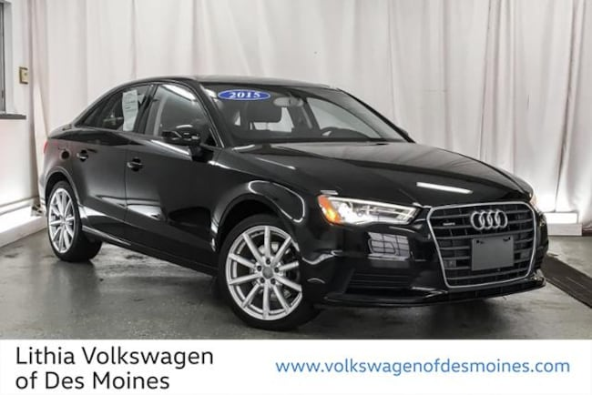 Used 2015 Audi S3 2.0T Premium Plus (S tronic) Sedan Johnston, IA