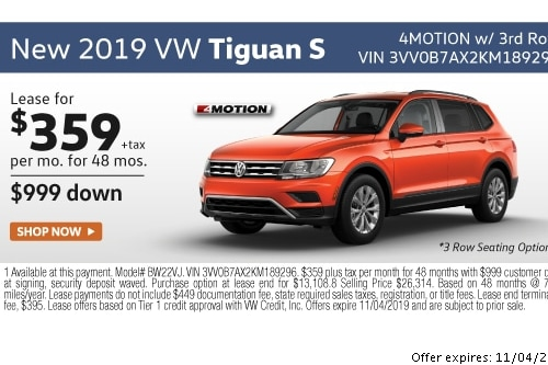 Vw Lease Specials >> Lease Specials Lithia Volkswagen Of Reno
