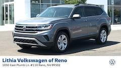 New 2021 Volkswagen Atlas 3.6L V6 SE w/Technology 4MOTION (2021.5) SUV Reno, NV