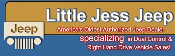 Right Hand Drive | Little Jess Motor Company