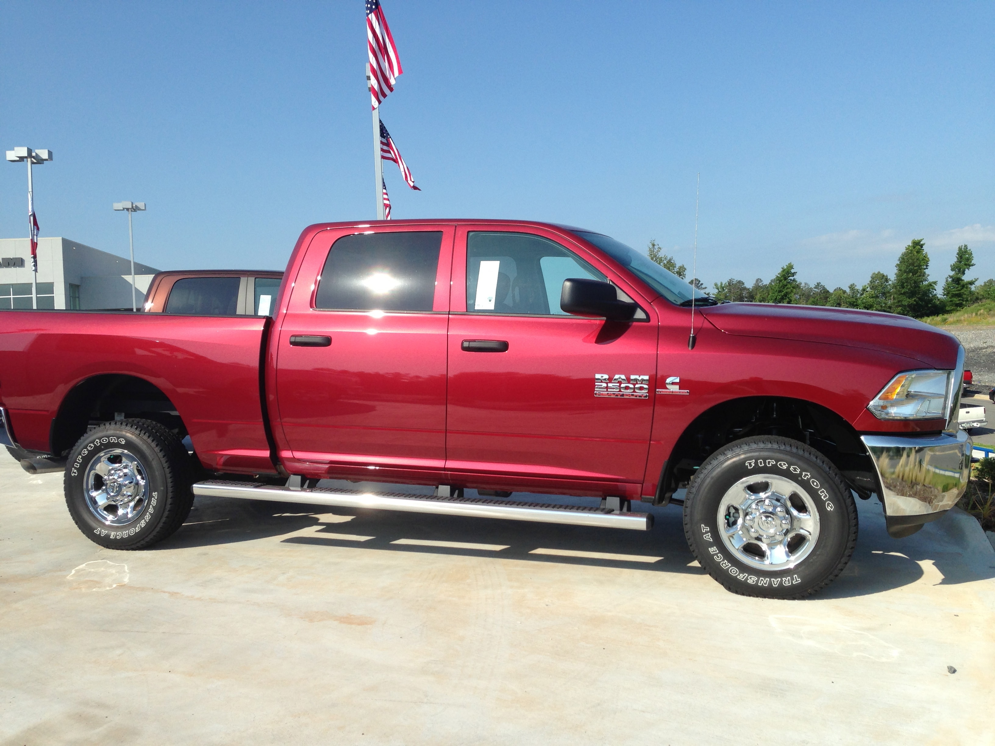 an american icon 2014 ram 2500 steve lander chrysler dodge jeep ram little rock ar - Dodge Ram 2500 2014 Red