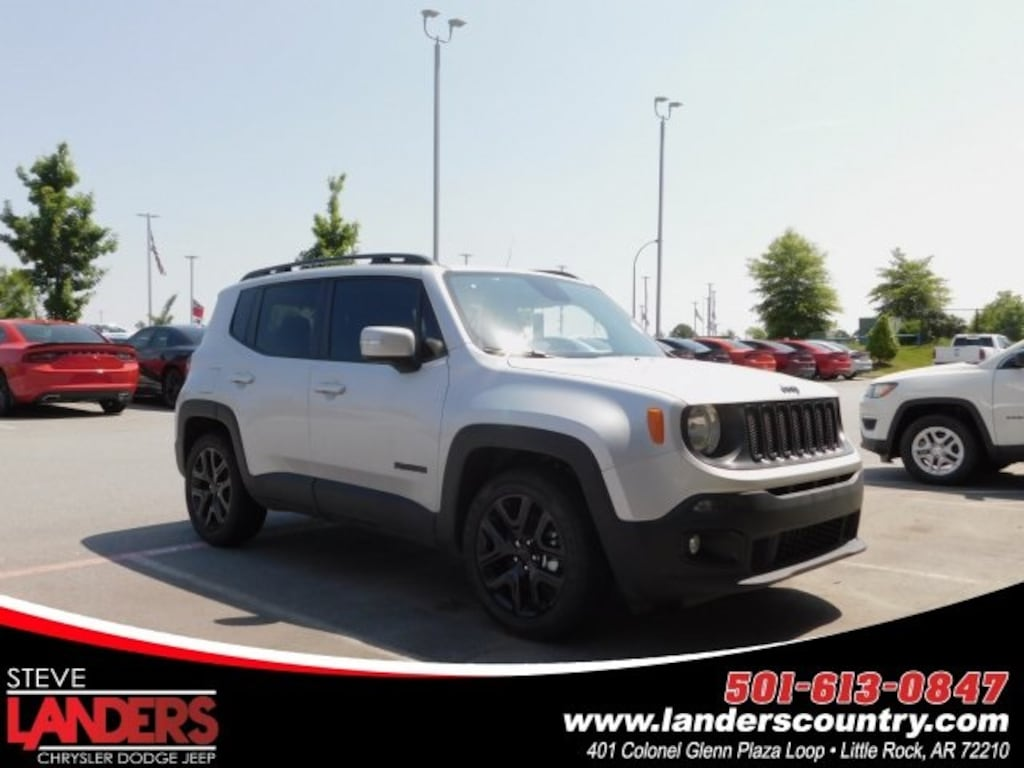 Landers Jeep Little Rock >> New 2018 Jeep Renegade For Sale At Steve Landers Auto Group
