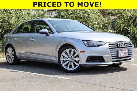 Featured Used 2017 Audi A4 2.0T Premium Plus Sedan for Sale near Fremont, CA
