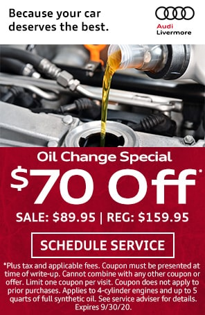 Oil Change Special in Livermore CA