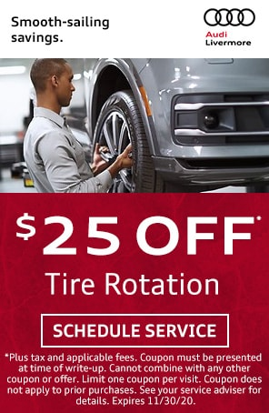 Tire Rotation Special in Livermore CA