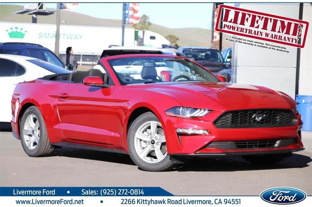 New 2020 Ford Mustang For Sale Livermore Ca Vin 1fatp8uh8l5125221