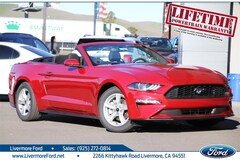 New 2020 Ford Mustang Ecoboost Convertible in Livermore, CA