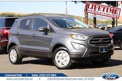 New 2020 Ford EcoSport SE SUV in Livermore, CA