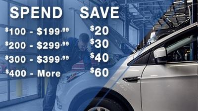 Save on Vehicle Service