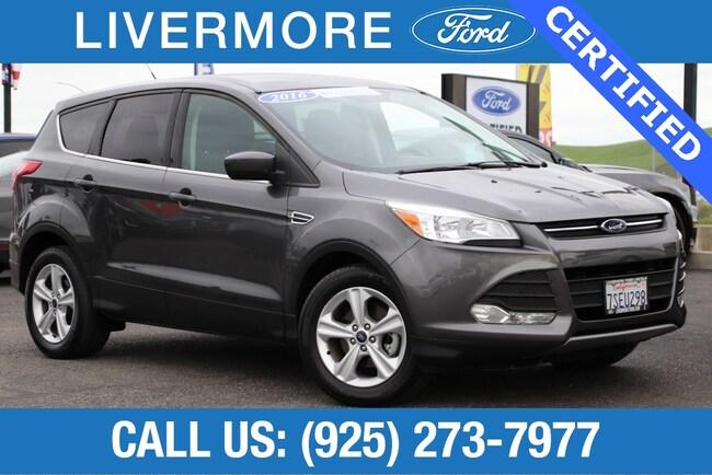 Certified Pre-Owned 2016 Ford Escape SE SUV in Livermore, CA