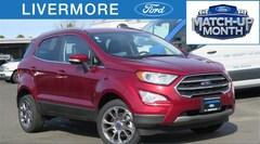 New 2018 Ford EcoSport Titanium SUV in Livermore, CA