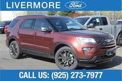 New 2018 Ford Explorer XLT SUV in Livermore, CA