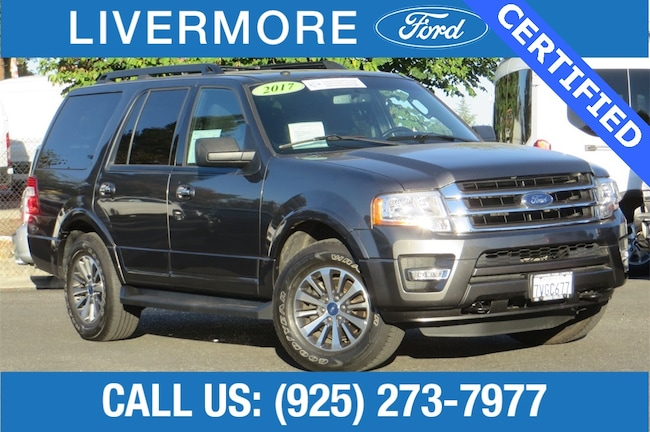 Certified Pre-Owned 2017 Ford Expedition XLT SUV in Livermore, CA
