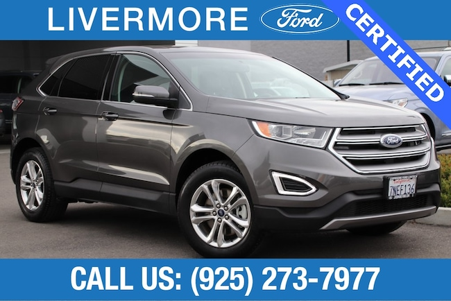 Certified Pre-Owned 2015 Ford Edge SEL SUV in Livermore, CA
