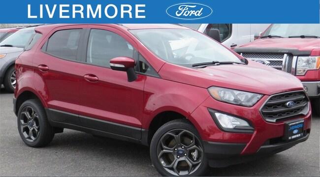New 2018 Ford EcoSport SES SUV in Livermore, CA