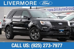 New 2018 Ford Explorer Sport SUV in Livermore, CA