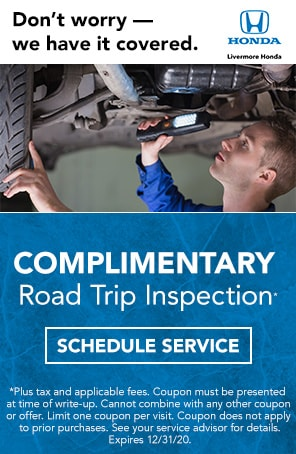 Road Trip Inspection Special in Livermore CA