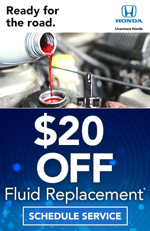 Fluid Replacement Coupon in Livermore CA