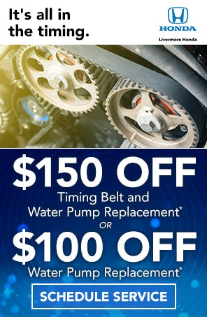 Timing Belt and Water Pump Replacement Livermore CA