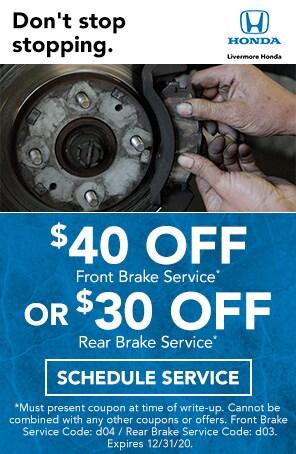 Brake Service Special in Livermore CA