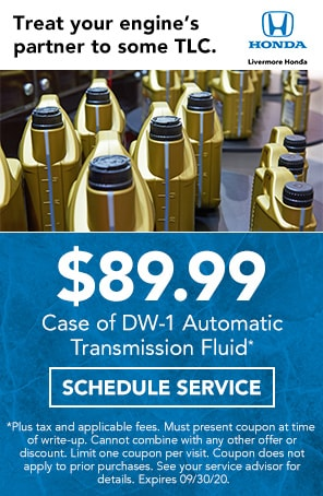 Transmission Fluid Special in Livermore CA