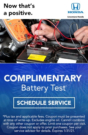 Complimentary Battery Test Livermore CA