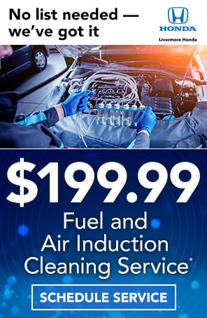 Fuel and Air Induction Cleaning Service in Livermore CA