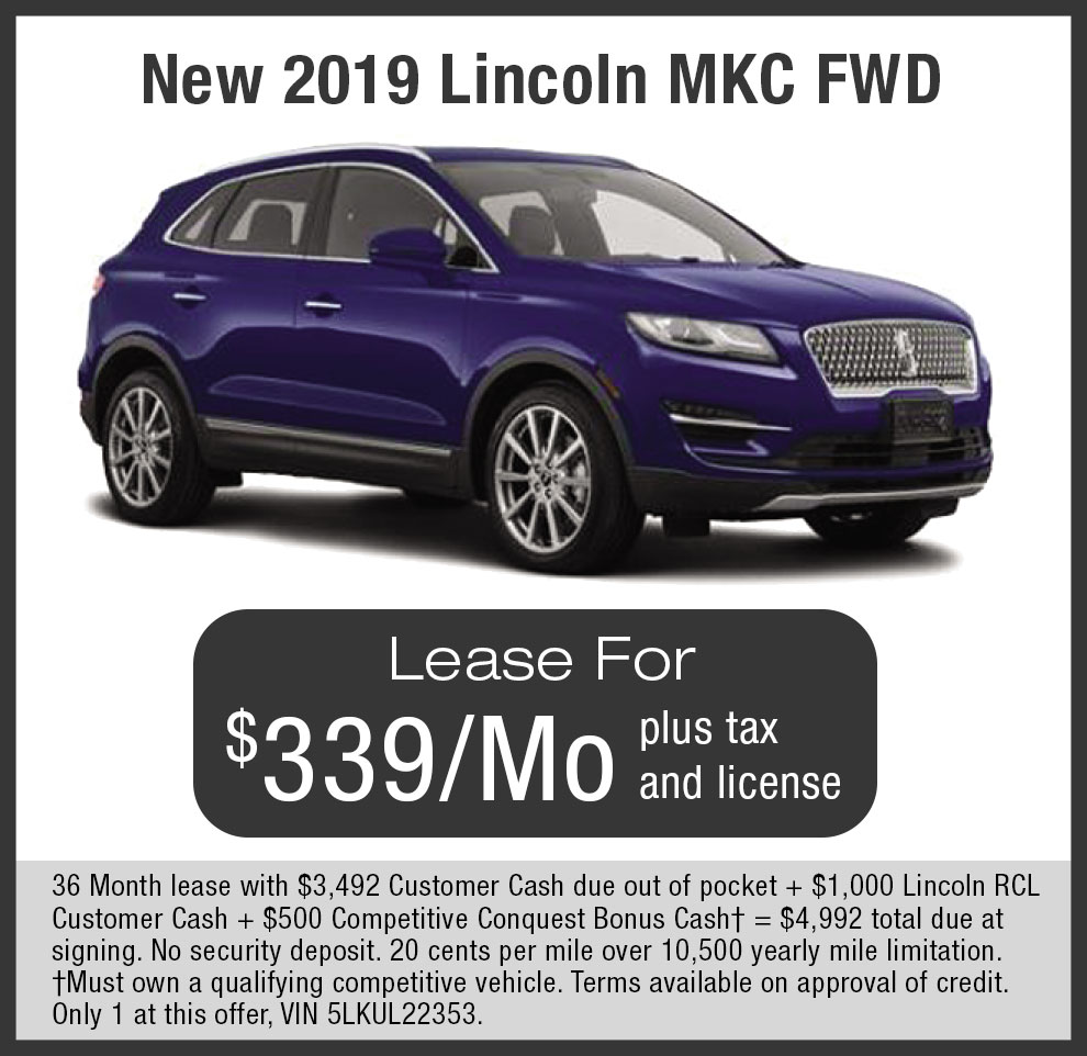 Check out Lincoln MKC Lease offers near Livermore, Dublin, Pleasanton in SF Bay Area, CA.