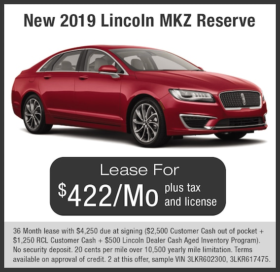 Lincoln Mkz Lease >> Mkz Lease Offers Livermore Lincoln
