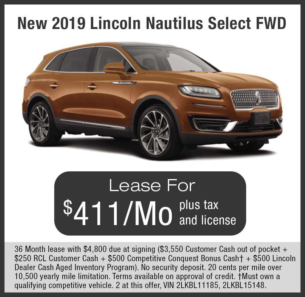Check out Lincoln Nautilus $411 per month Lease offers near Livermore, Dublin, Pleasanton in SF Bay Area, CA.