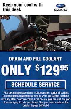 Drain and Fill Coolant