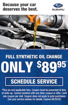 Synthetic Oil Change in Livermore CA