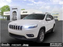 New 2020 Jeep Cherokee LATITUDE PLUS 4X4 Sport Utility Livonia, Michigan