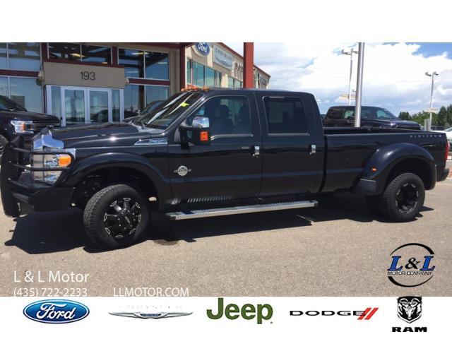 2015 Ford F-350 Platinum Truck Crew Cab