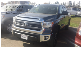 2014 Toyota Tundra SR5 5.7L V8 w/FFV Truck Crew Max