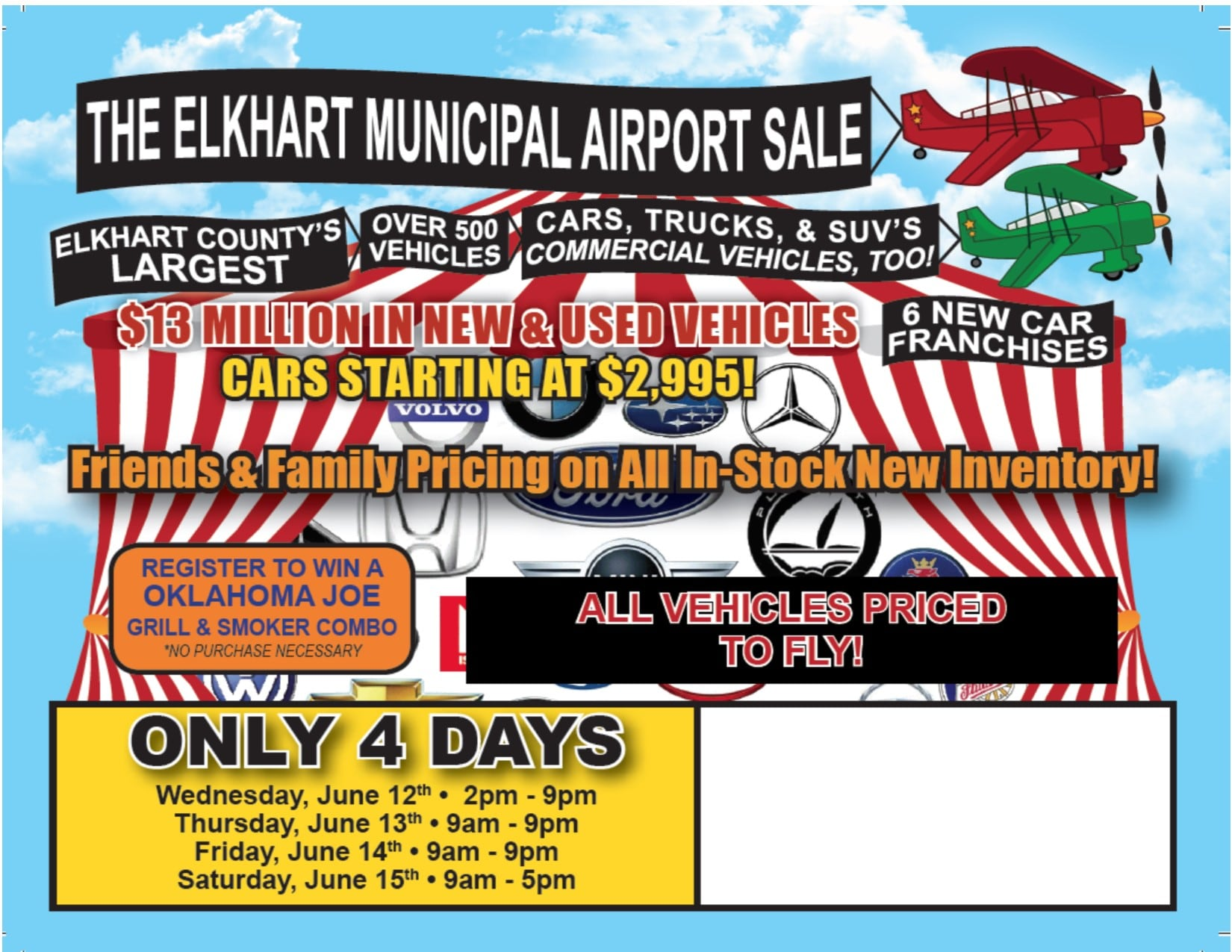 June 2019 Airport Sale | Lochmandy Motors