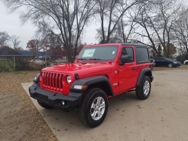 New 2019 Jeep Wrangler SPORT S 4X4 SUV 1C4GJXAN6KW506009 for Sale in Elkhart IN