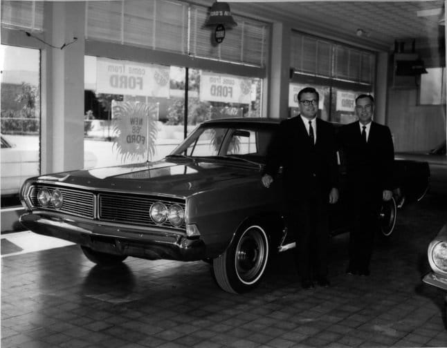 Father & Son- Lockhart Ford Motor Company