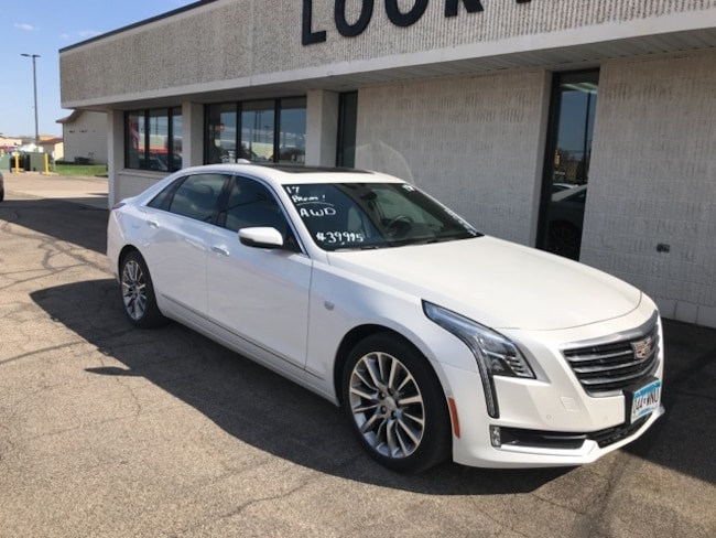 2017 CADILLAC CT6 3.6L Premium Luxury Sedan
