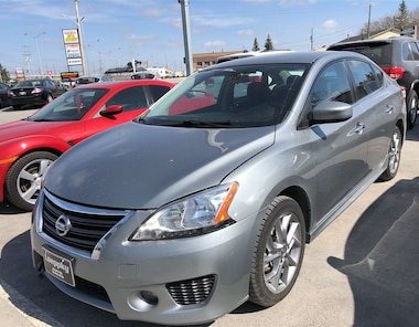 2013 Nissan Sentra SR PACKAGE locally owned clean car!