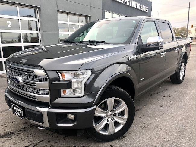 2015 Ford F-150 PLATINUM ALL THE OPTIONS Crew Cab