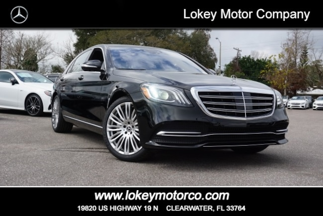 New 2019 Mercedes-Benz S-Class S 450 Sedan Clearwater