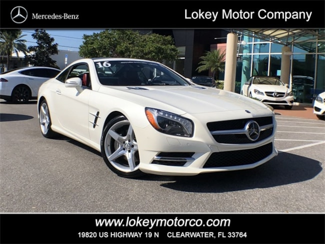 27d8ef70d8 Certified Pre-Owned 2016 Mercedes-Benz SL 400 Sport Roadster Clearwater